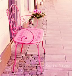 Pretty in pink bench Pretty In Pink, Pink Love, Hot Pink, My Love, Pink Pink Pink, Perfect Pink, Pastel Pink, Pink Girl, Purple