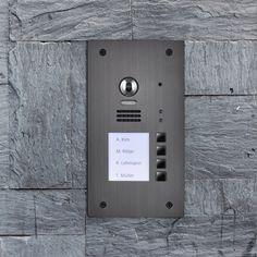 Wechselsprechanlage mit Kamera  Türfreisprecheinrichtung Video Sprechanlage mit Kamera