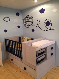 gorgeous 37 Latest Nursery Room Design Ideas That Will Inspire You Baby Boy Room Decor, Baby Room Design, Baby Bedroom, Baby Boy Rooms, Nursery Design, Baby Boy Nurseries, Baby Cribs, Nursery Room, Baby Furniture Sets