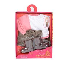 f0f297e50990 062243276918 Our Generation 18-inch Country Classic Regular Doll Outfit  Jojo Bows
