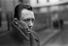 Albert Camus, Paris, 1944 -by Henri Cartier-Bresson [+] from Museum für Gestaltung Zürich