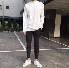 Style Korean Fashion Cowok Ideas For 2019 Korean Outfits, Trendy Outfits, Fashion Outfits, Mens Fashion, Korean Fashion Trends, Korean Street Fashion, Look Man, La Mode Masculine, Mode Style