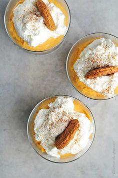 Easy No Bake Pumpkin Cheesecake Recipe   http://shewearsmanyhats.com/easy-bake-pumpkin-cheesecake-recipe/