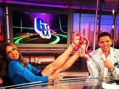 Lili Estefan Piernas | de abril de 2014 - Lili Estefan comparte sus zapatos del día con la ...