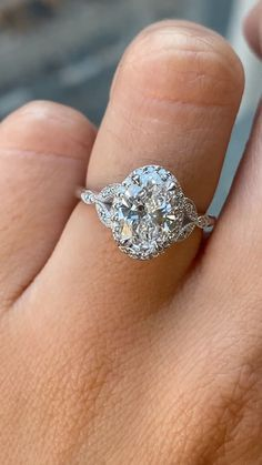 Our Rachael is 14k white gold elegance and mystic wrapped into one. She has an independently certified brilliant, conflict free two carat oval cut diamond at her center that we know will make your partner's heart melt. Width of band is approximately 1.8mm. #uniquengagementring #customengagementring #engagementringideas #engagementringinspiration #ovaldiamond #ovalengagementring #ovaldiamondring #haloengagementring #twocarat #2carat #labgrowndiamond #ethicalengagementring #ringinspo Gemstone Engagement Rings, Diamond Wedding Rings, Bridal Rings, Oval Engagement, Oval Diamond, Diamond Gemstone, Gemstone Rings, Lab Created Diamond Rings, Vintage Inspired Engagement Rings