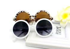 New Brand Summer Style Sunglasses Women Fashion Vintage Round Eyeglasses Plastic Frame Leg Spectacles Sun Glasses 5 Colors