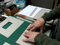 Binding in Boards,  japanese style  - PART 1-  Japanese binding is usually to make a soft bound book. This is a way to bind one in boards. This first part is the preparation of the boards which includes setting an inset.