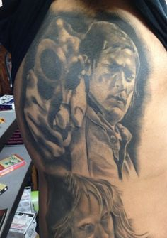 The Walking Dead Tattoo