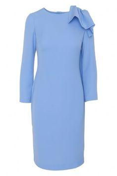 Imagen de VESTIDO AGATHE AZUL Periwinkle Blue, Pastel Blue, Winter Walk, Green Cream, Fashion Over 50, Fashion Outfits, Womens Fashion, Elegant Dresses, African Fashion