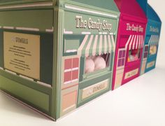 The Candy Shop on Behance