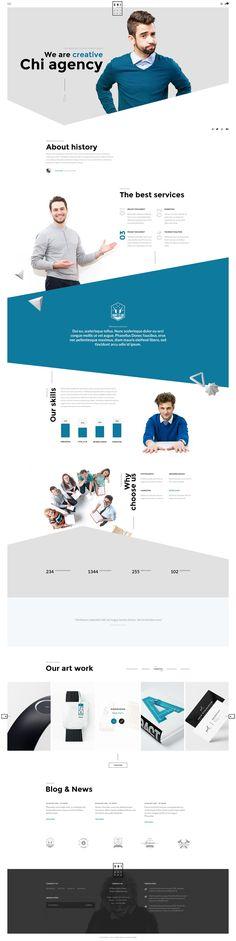 Best Business Themes #WEB #DESIGN