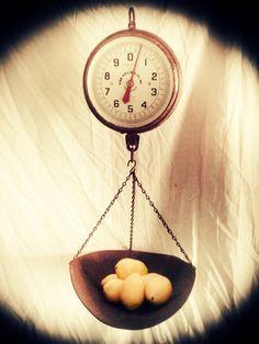 Vintage PENN 30lb Hanging Produce Scale Farm by OhGloryVintage