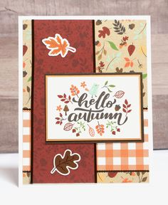 Scrapbook Cards, Scrapbook Layouts, Scrapbooking, Friend Cards, Cards For Friends, Homemade Christmas Cards, Homemade Cards, Handmade Card Designs, Diy Thanksgiving Cards