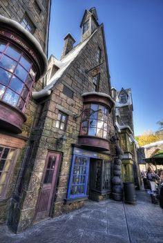 "Harry Potter Theme Park at Orlando. I want purchase a wand and shout out ""EXPEELLIARMUS!!!"" loud with my want! :D"