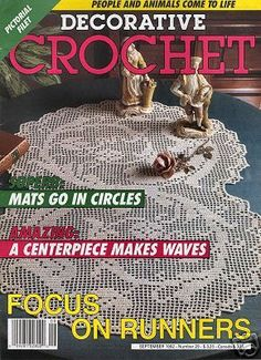 Decorative Crochet Magazines 29 - Gitte Andersen - Picasa Web Albums