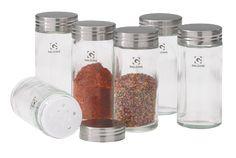 Galzone Krydderiglas - Glas - Klar - D 4,0cm - H 9,5cm - 1 - Stk.
