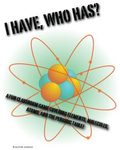 Fun game-based review covering elements, molecules, atoms, and the periodic table. Your students will be engaged and learning while having fun! Click to find out more.