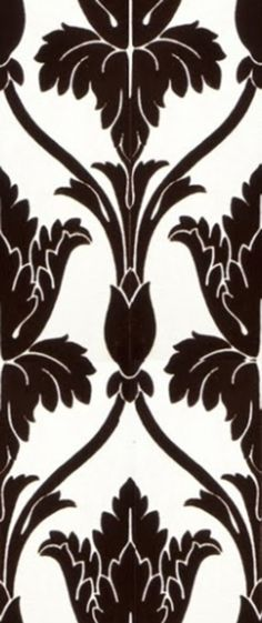 How to make a stencil of the gorgeous wallpaper from BBC's Sherlock. Because I don't have £80 to buy it for realsies. From the tumblr - It's an experiment, John