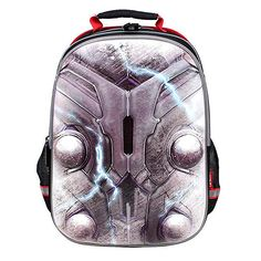 YOURNELO Boy s Cool 3D DC Comics Marvel s The Avengers School Backpack  Review Thor Marvel 983f612475791