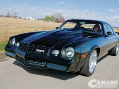 Check out this 1978 Chevrolet Camaro RS featuring a GM Crate LS3 Engine built at Heartland Customs - Camaro Performers Magazine