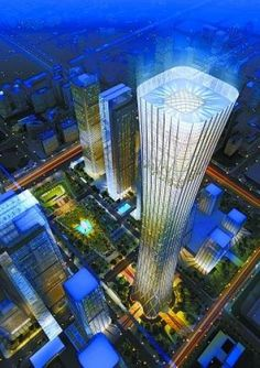 Beijing's tallest building starting construction soon.