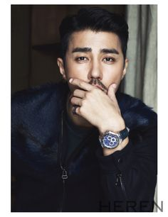 fur x men's :: Cha Seung Won for Heren Magazine, January 2015 Asian Actors, Korean Actors, Cha Seung Won, Watch Korean Drama, Hot Asian Men, Into The Fire, Korean Star, Korean Celebrities, Korean Model
