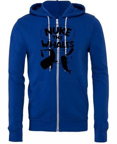 nuke the whales awesome funny Zipper Hoodie