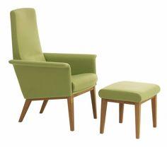Scandinavian Design.com With Coolest Calm Green Armchair With Footstool Ideas For Scandinavian Design Furniture Company