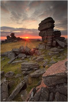Shot on the western side of Dartmoor at Staple Tor (by *sassaputzin on deviantART)