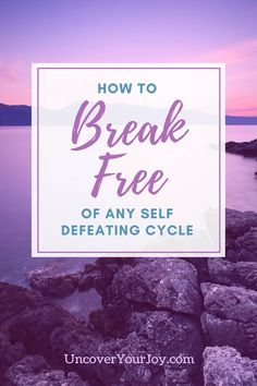 Self-sabotage is a real thing, and it's something many of us do way too often. We make one mistake, feel guilty, and 'accidentally' dig ourselves into a deeper hole. It's like the guilt forced us to do things that made us feel even worse. If you've felt stuck in any type of self defeating cycle, this blog will show you...