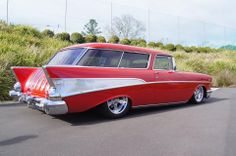 1957 Chevy Nomad Maintenance/restoration of old/vintage vehicles: the material… 1957 Chevy Bel Air, Chevrolet Bel Air, 1955 Chevy, Classic Trucks, Classic Cars, Beach Wagon, Station Wagon Cars, Chevy Nomad, Classic Hot Rod