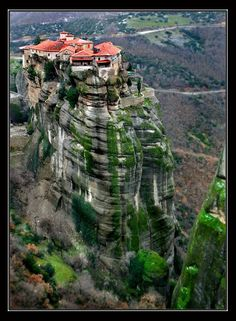 Meteora, Greece - Meteora is part of central Greece, and is placed on the north-western edge of the Plain of Thessaly near Pindus Mountains and the Peneios River. It constitutes one of the most dramatic landscapes of the country and is also its second largest and most popular complex of monas