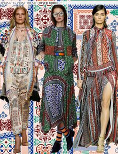 Spring 2015 Runway Trend: Mixed Boho via Aaryn West