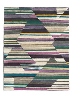 Abstract Fall Rug by Laura Kirar