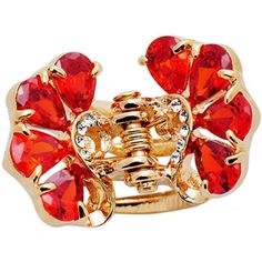 Sweet Hair Claw Elegant Hair Clip Small Size Claw/Hairpin(Red) ** This is an Amazon Affiliate link. Visit the image link more details.
