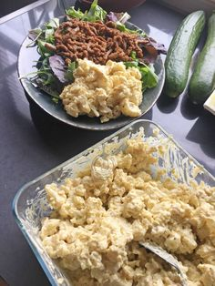 Bloemkoolsalade (Aardappelsalade kha tweak) - WayMadi.nl Bbc Good Food Recipes, Lunch Recipes, Yummy Food, Healthy Recipes, Healty Lunches, Warm Food, No Cook Meals, Food Inspiration, Food And Drink