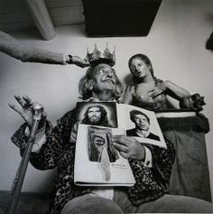 portrait of Salvador Dalí by Alberto Schommer, 1973
