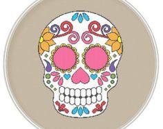Sugar skull cross stitch pattern Instant by MagicCrossStitch