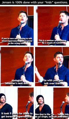 [gifset] We will never be bored with Supernatural! #Jensen