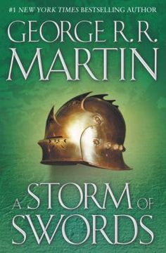 A Storm of Swords by George R.R. Martin.  (Book Three) As the brutal struggle for power nears its tumultuous climax, the battered and divided kingdom faces its most terrifying invasion—one that is being spearheaded from beyond the grave. . . .