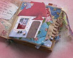 Paperbag handmade altered book
