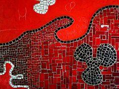 Zofia i Oskar Hansen - Mozaiki z zaprojektowanego przez architektów