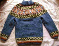 sweater made of Alafoss Lopi