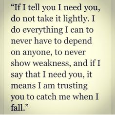 And you pushed me off a cliff.