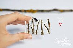 Resultado de imagen para joyas de resina y plata