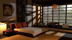 Asian bedroom www.bonafe.nl