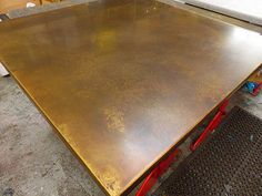 37 - Typical Aged Brass Top