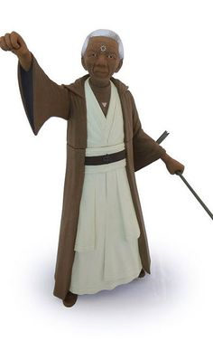"""12   Celebrities Turned Into """"Star Wars"""" Action Figures   we like them all but this one struck us as particularly poignant."""