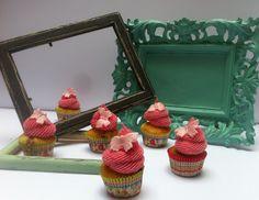 Mini cupcake alla fragola