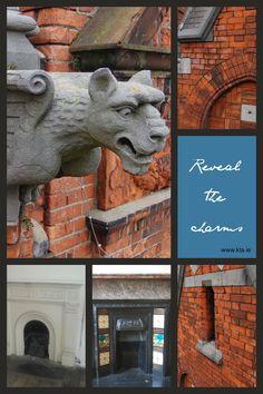 Keenan Lynch Architects' survey reveal the hidden charms of a Dublin townhouse www. Lynch, Dublin, Conservation, Townhouse, Architects, Architecture Design, Charms, Lion Sculpture, Statue